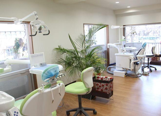つくしの歯科 府中駅 診療室の写真