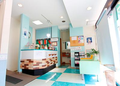 やまもと歯科 大泉学園 待合室