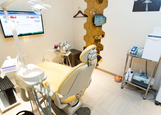 グラーツデンタルケア 西荻窪 完全個室の診療室の写真