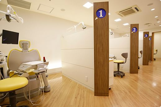 丸の内 帝劇デンタルクリニック 日比谷駅 診療室の写真
