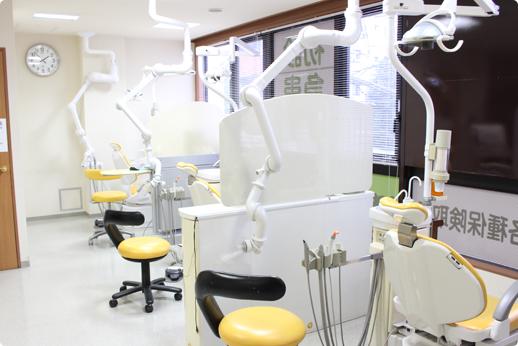医療法人社団よつば クローバー歯科 大泉学園 院内の風景