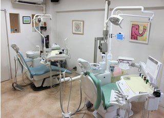 成城えきまえ歯科 診療室の写真