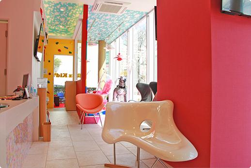 RKデンタルオフィス晴海 待合室の写真