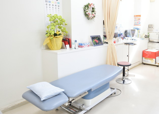 医療法人社団イーハトーブ はせがわクリニック 大田区 診療室