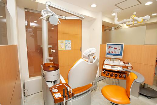 山手通り歯科 中目黒 診療室