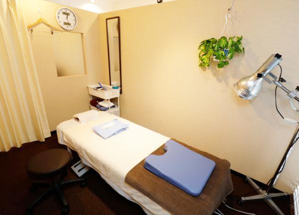 蘇摩鍼灸治療院 笹塚 院内