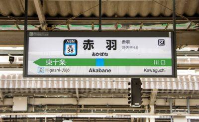 【2021最新】赤羽駅のコインロッカーまとめ!大型ロッカーあり