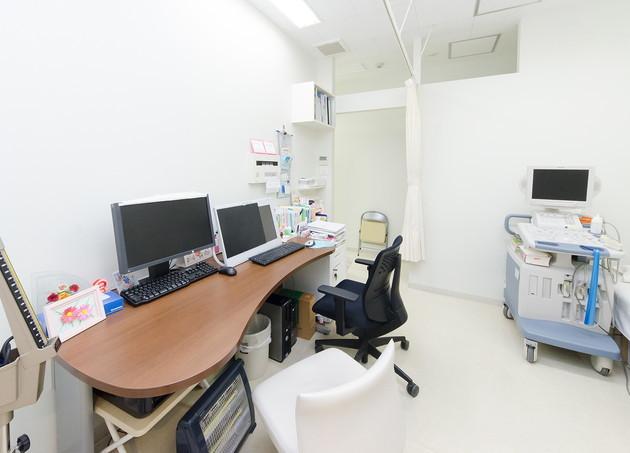 おくど内科クリニック 京成立石 診察室