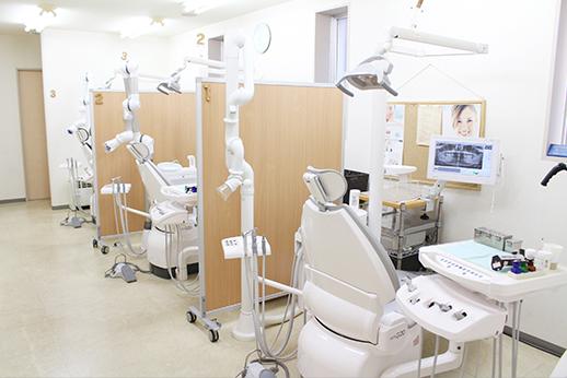 しぶかわ歯科クリニック 森下 診療室