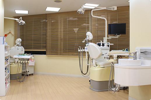 すずき歯科五反田Gタワークリニック 診療室