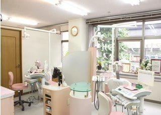 アヤデンタルオフィス 新宿 診療室