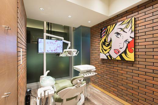 中目黒リバーサイドデンタルクリニック 診療室