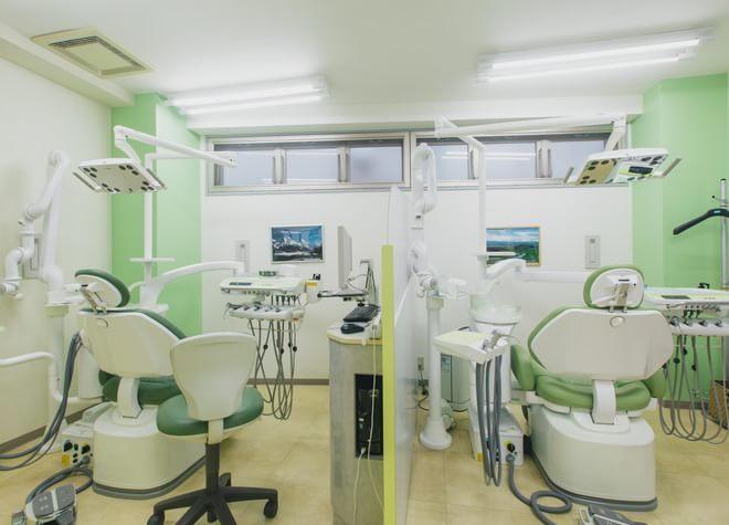 横澤歯科医院 ひばりヶ丘 診療室