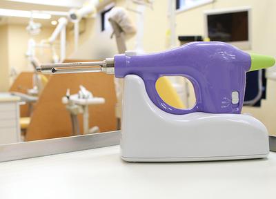 王子ホワイト歯科 電動麻酔器