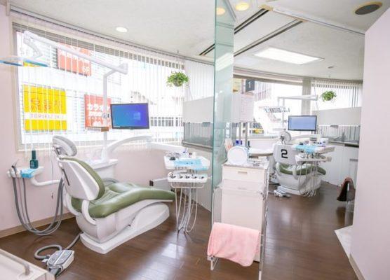 町田小田急駅前歯科 矯正歯科 診療室