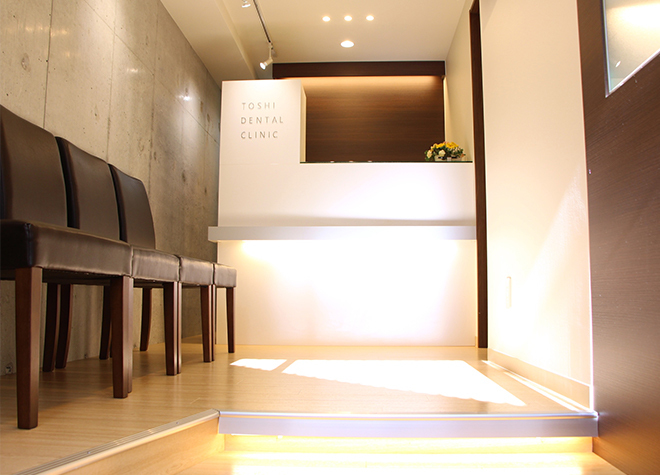 TOSHI DENTAL CLINIC 吉祥寺 受付