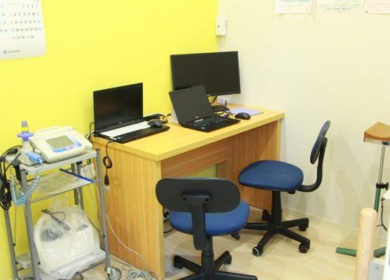 みらいメディカルクリニック西六郷 診療室