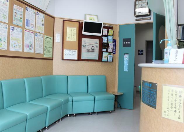 日暮里医院 待合室