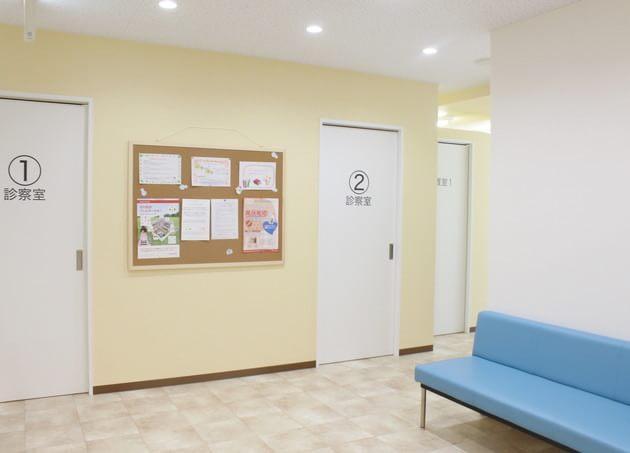 桜新町皮フ科クリニック 待合室