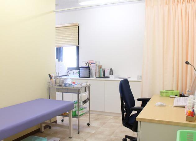 桜新町皮フ科クリニック 診察室
