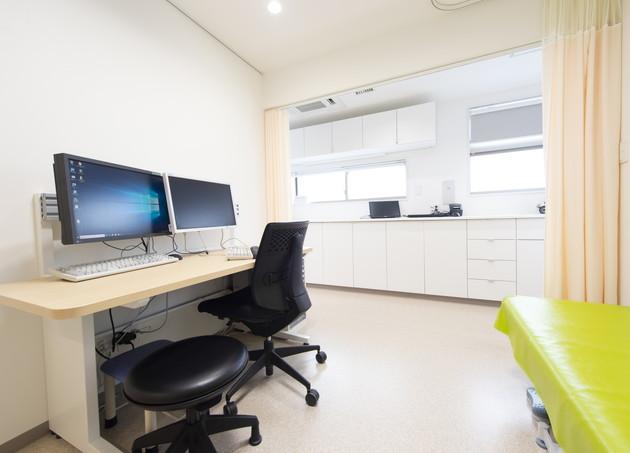 永福町いまい皮膚科・形成外科 診察室