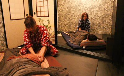 【カワイイ浴衣でほっこり和む】渋谷駅の『癒処至れり尽くせり』