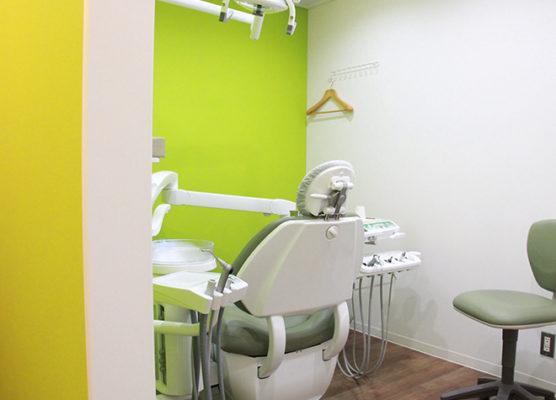 那須歯科医院扇 扇大橋 診療室