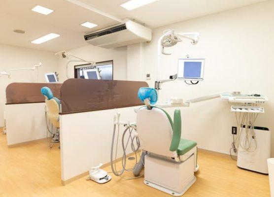 上板橋つつい歯科医院 院内