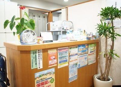上野昭和通り歯科医院 受付