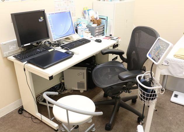 南砂町おだやかクリニック 診察室