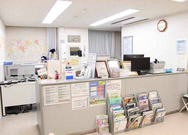 細田診療所 京成高砂 受付