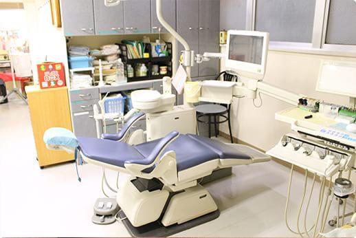 トナミビルデンタルクリニック 赤羽 診療室