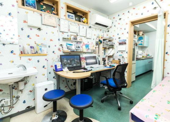 城南チャイルドゼネラルクリニック 蒲田 診療室