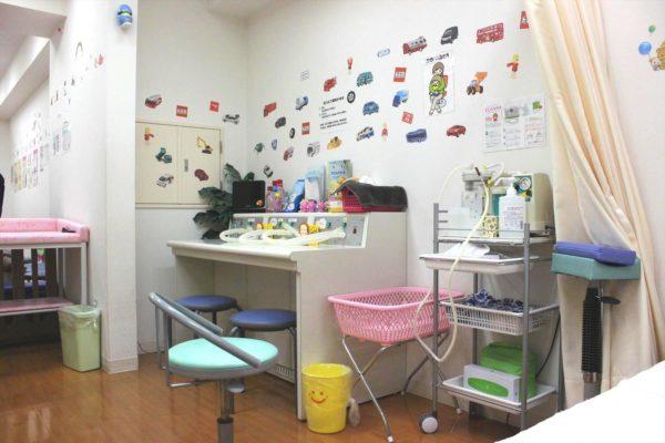 亀戸キッズクリニック 診察室