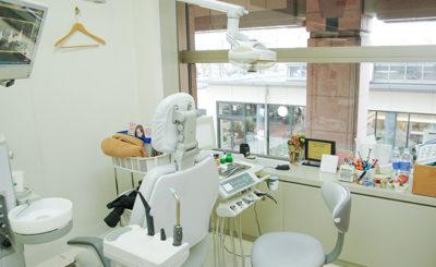 恵比寿南橋デンタルクリニック 恵比寿 歯医者 診察室