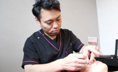 【美容鍼でフェイスラインのアップ】駒込駅近くの『Beauty&Healthやなだ鍼灸院』