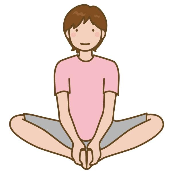 ストレッチ 股関節 ほぐし 腰痛 まち リラク